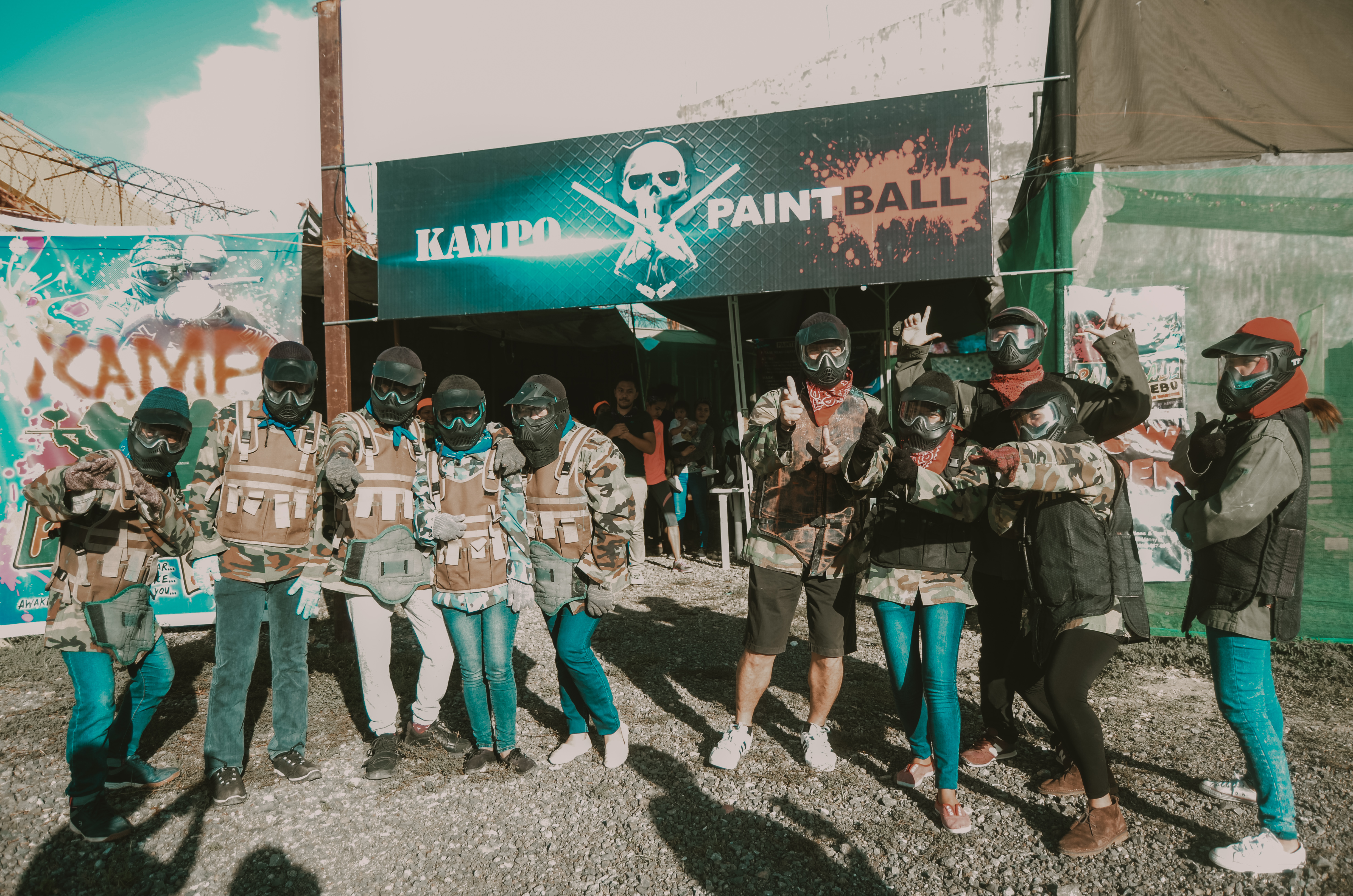 Blueprint paintball battle blueprint business solutions corp the green and orange teams were pitted against each other with orange as the winner purple allocated the war zone with the winning group orange yet malvernweather Gallery